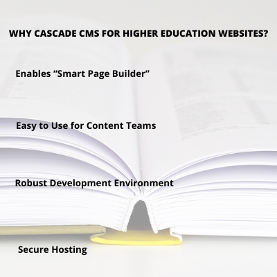 Higher Education Web Content Management Systems