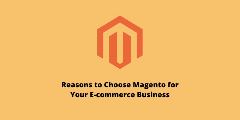 Reasons to Choose Magento for Your E-commerce Business